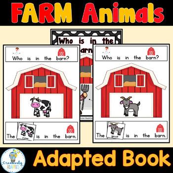 ADAPTED BOOK-Farm (PreK-2/SPED/ELL)
