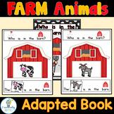 ADAPTED BOOK-Farm Animals (PreK-2/SPED/ELL)