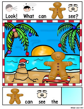 ADAPTED BOOK-Gingerbread Man (Autism/SPED/ELL)