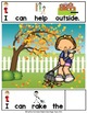 ADAPTED BOOK-I Can Help-Jobs and Chores Outside  (PreK-2/SPED/ELL)