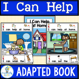 ADAPTED BOOK-Job Skills, Social Skills at Home (PreK-2/SPED/ELL)