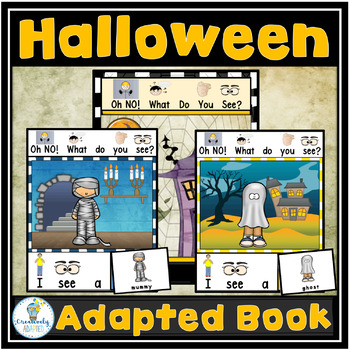 ADAPTED BOOK- Halloween (PreK-2/SPED/ELL)