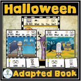 Halloween Adapted Book (PreK-2/SPED/ELL)