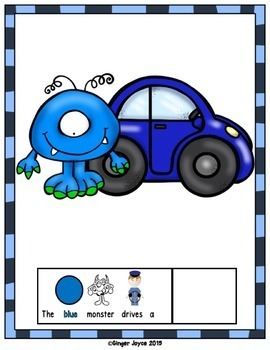 HALLOWEEN ADAPTED BOOK-Monsters (PreK-K/Autism/Special Education)