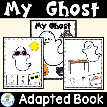 HALLOWEEN ADAPTED BOOK-Ghosts (PreK-K/Autism/Special Education)