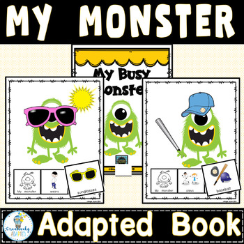ADAPTED BOOK- Monsters (Autism/Special Education)