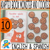 "Numbers 1-10. Adapted book ""The Monster wants to eat"""