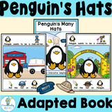 INTERACTIVE ADAPTED BOOK-Penguin Hats [PreK-2-ELL-SPED)