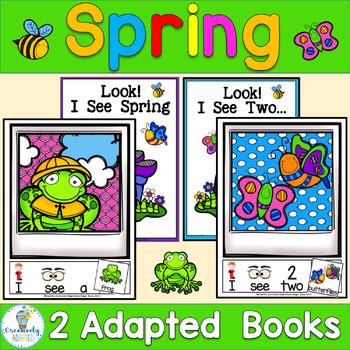 ADAPTED BOOK-SPRING (PreK-2/SPED/ELL)