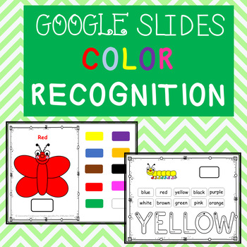 ADAPTED BOOK: SPRING COLORS GOOGLE SLIDES