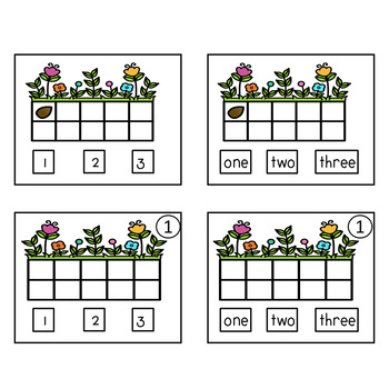 ADAPTED BOOK SPRING TIME COUNTING 1 TO 10