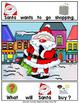 ADAPTED BOOK-Santa Goes Shopping (PreK-2/SPED/ELL)