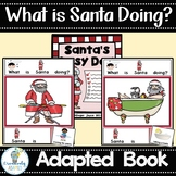 ADAPTED BOOK-Santa Actions PreK-2 SPED