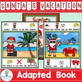 ADAPTED BOOK-Santa Vacation PreK-2 SPED