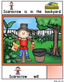 ADAPTED BOOK-Fall/Scarecrow (Autism/Special Ed)