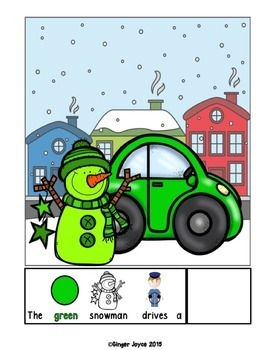 ADAPTED BOOK-Snowmen on the Go (PreK-2/SPED)