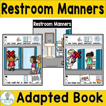 ADAPTED BOOK-Social Skills/Bathroom Manners (PreK-2/SPED)