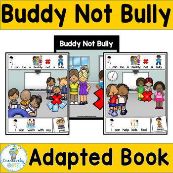 INTERACTIVE BOOK-Social Skills-Bullying (PreK/ELL/SPED)