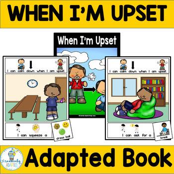 ADAPTED BOOK-Social Skills/Calm Down (PreK-2/SPED)