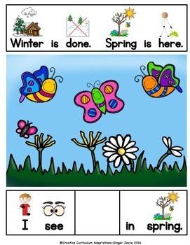 ADAPTED BOOK-Spring is Here (PreK-2/SPED/ELL)