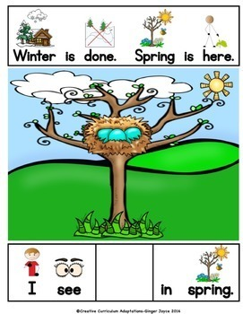ADAPTED BOOK-Spring is Here (PreK-2/SPED/ELL)