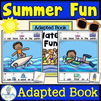 ADAPTED BOOK-Summer (PreK-2/SPED/ELL)