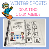 ADAPTED BOOKS COUNTING 1 TO 10 WINTER SPORTS THEME