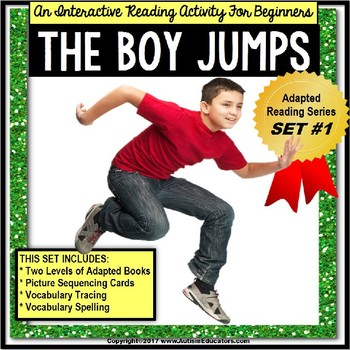 ADAPTED Book For Reading Comprehension and Retelling ADAPTED BOOK #1