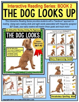 ADAPTED Book  - Reading Comprehension and Retelling SPECIAL EDUCATION Book #2