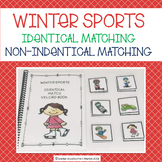 ADAPTED WINTER SPORT IDENTICAL & NON INDENTICAL MATCHING BOOKS