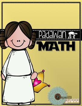 PADAWAN MATH {for First Grade} Star Wars