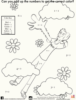 ADC Kid Math Coloring Worksheet by ADC Kid | Teachers Pay Teachers