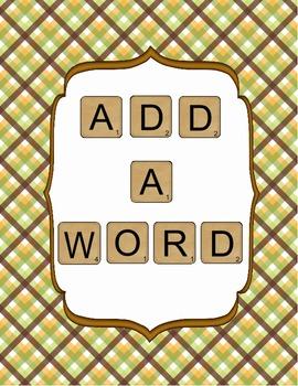 ADD A WORD