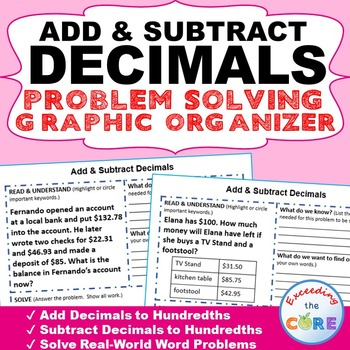 how to add and subtract decimals with integers