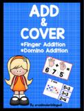 ADD & COVER *Finger Addition * Domino Addition