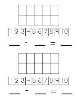 ADD/SUBTRACT with Target Erasers