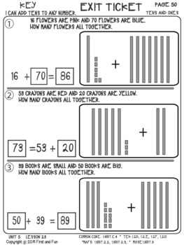 ADD TENS TO ANY NUMBER UNIT 5 LESSON 23  MAFS COMMON CORE MGSE TEK i READY