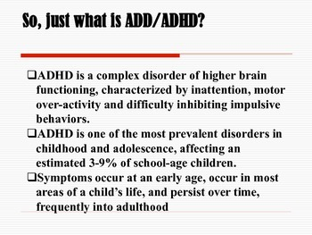 ADD/ADHD Checklist: Building a Roadmap of Success for Children and Adults!