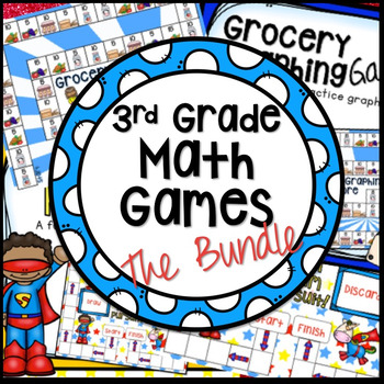 ADDING WITHIN 1000 AND GRAPHING BOARD GAMES THE BUNDLE
