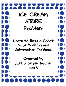 ADDITION AND SUBTRACTION CHART PROBLEM FREEBIE~ MULTIPLES OF 10