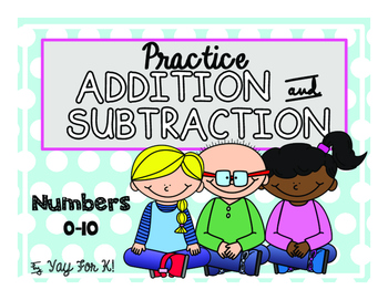 Freebie--Addition and Subtraction--Numbers 1-10