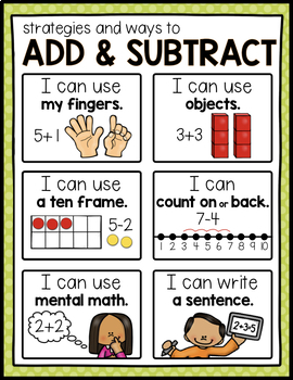 ADDITION AND SUBTRACTION OPERATIONS: MATH ACTIVITY PACK