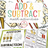 ADDITION AND SUBTRACTION OPERATIONS: MATH ACTIVITIES FOR PRESCHOOL, PREK AND KIN