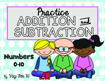 Addition and Subtraction--Numbers 1-10