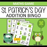 ADDITION BINGO St Patrick's Day Adding Game