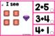 ADDITION CLIP CARDS~Kindergarten~