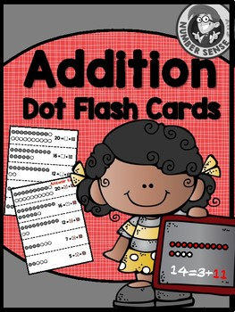 ADDITION DOT CARD FACT FLUENCY PACK