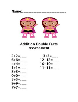 ADDITION DOUBLE FACTS