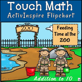 Touch Math: Feed the Animals Flipchart