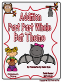 ADDITION PART PART WHOLE NUMBER BOND BAT THEME MATS WORKSHEET n TASK CARDS COMMO
